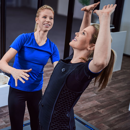 Careers Fitness PT Instructor EMS Workout