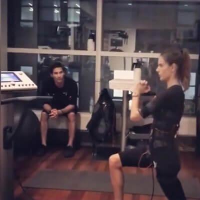 Alessandra Ambrosio (Model) - EMS Training & Fitness