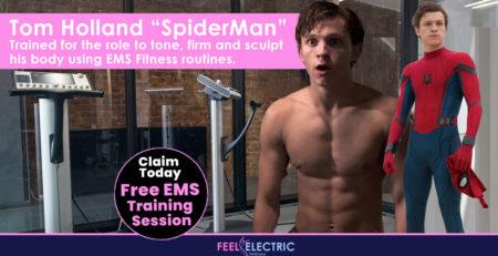 Tom Holland (SpiderMan) - EMS Training & Fitness