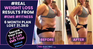Fast Weight Loss Results Targeting Belly Fat, To Tone, Firm EMS Fitness Workout